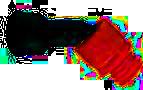 Winkeladapter-mit-Kugelgelenk-für-Kartuschendüsen-Drehbar-45°-klein-trans